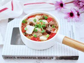 芋头番茄粉条煲