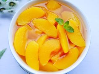 黄桃罐头,赶紧做起。
