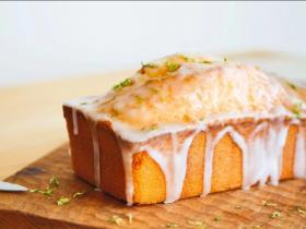 柠檬糖霜磅蛋糕