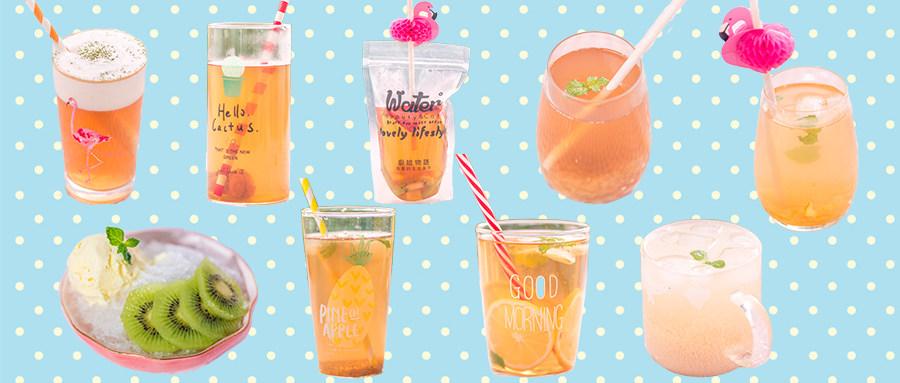 9款清爽又解渴的蜜桃乌龙茶冰饮,越喝越上瘾!