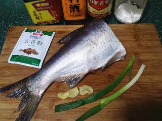 冬日暖心菜  砂锅焗鱼块,备好食材,将鱼洗净沥干水分备用