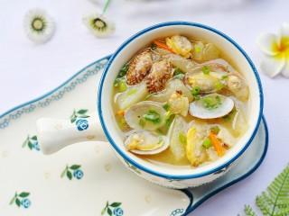 冬瓜花蛤汤,超级鲜美味美。