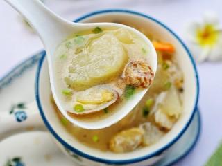 冬瓜花蛤汤,无敌好喝。