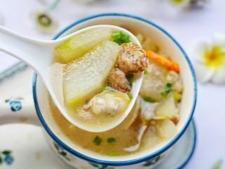 冬瓜花蛤汤,全家都喜欢。