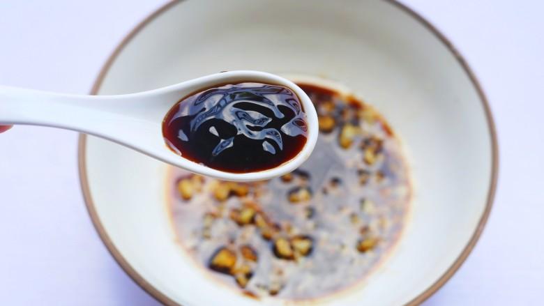 十分钟营养早餐面,1勺蚝油。