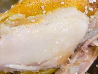 电饭锅盐焗鸡,肉质鲜嫩