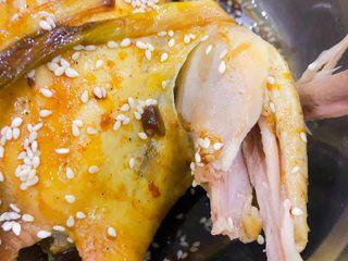 电饭锅盐焗鸡,骨头酥软