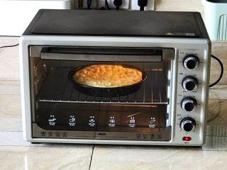 芝士榴莲饼,上下火200W,烤15分钟即可