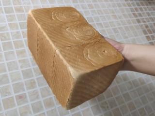 一次发酵手撕吐司面包,做好喽!