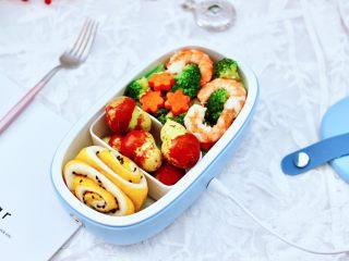 虾仁清炒西兰花便当,上班族和学生党的营养便当,吃的时候加热一下即可享用了。