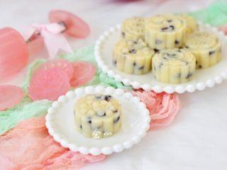 蜜豆山药糕