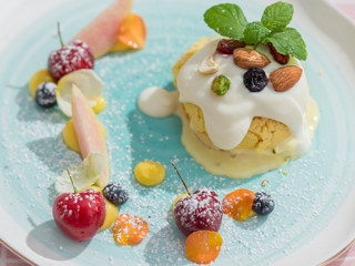 棉花糖口感的冰淇淋酥皮泡芙,竟能一口融化你!