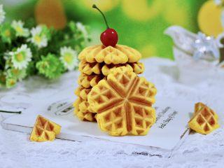 南瓜酸奶华夫饼