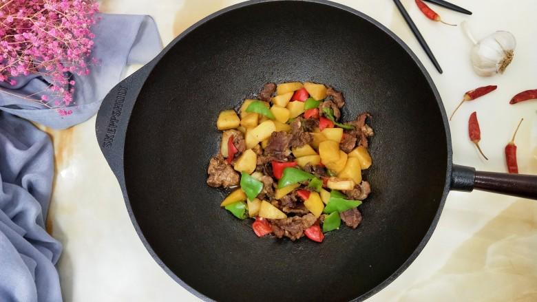 牛肉酱烧土豆