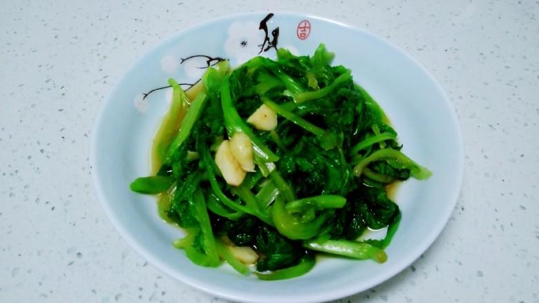清炒上海青、生菜