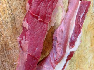 番茄炖牛腩,牛腩不用太肥了,太肥了做汤比较油腻,有一丢丢的肥肉那种最好。
