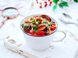 鲍鱼番茄海鲜豆腐浓汤