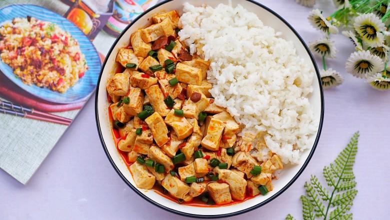 红烧豆腐盖饭