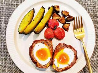 苏格兰炸鸡蛋-鸡蛋的花式吃法,今日早餐全体来一张