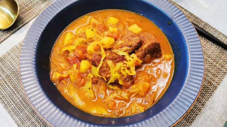 大块牛肉罗宋汤