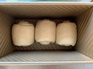 手撕面包,入模具
