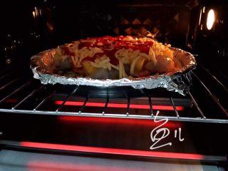 水果披萨,入烤箱200度烤17分钟