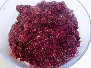 紫米面包,紫米用电饭煲煮熟