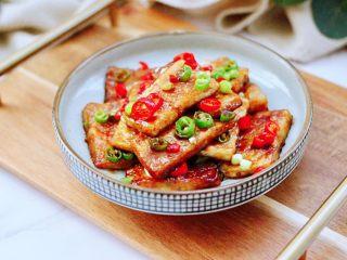 照烧北豆腐,酸甜香鲜的照烧北豆腐出锅咯,好吃到爆,每次一盘不够吃。