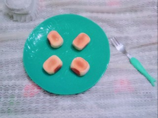 紫薯芝士仙豆糕,美味的仙豆糕。