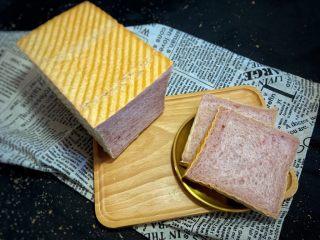 紫米面包,切片