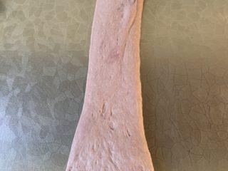 紫米面包,翻面