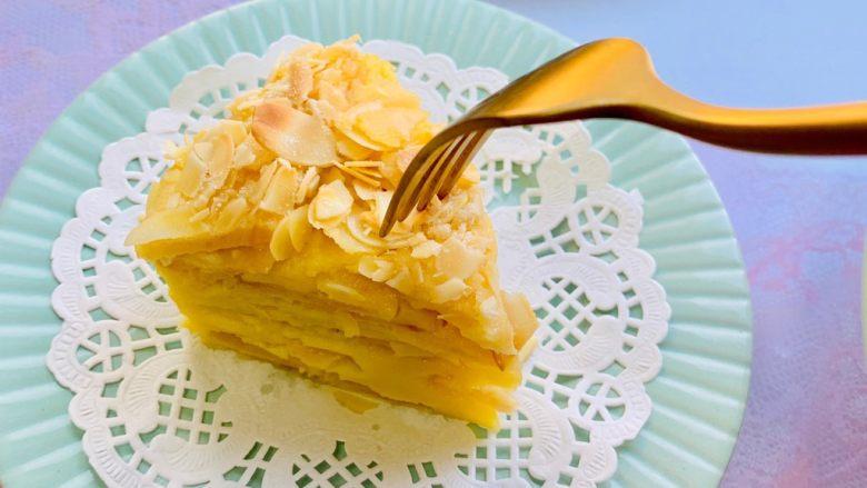 苹果千层蛋糕,零失败,厨房小白可以安心做😄
