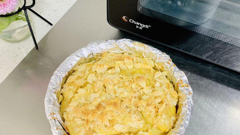 苹果千层蛋糕,不用等待冷却直接脱模就好