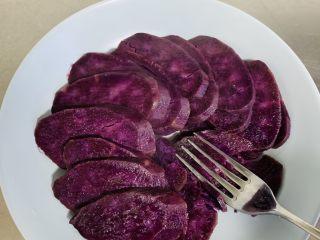 紫薯红枣糕🍰,用自己最方便的东西给它搅成泥