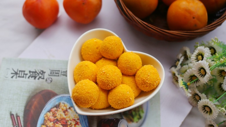 黄金柿子球