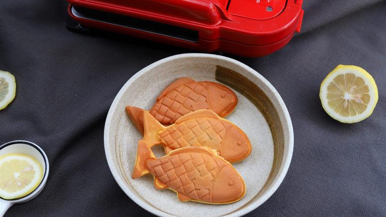 鲷鱼烧,成品
