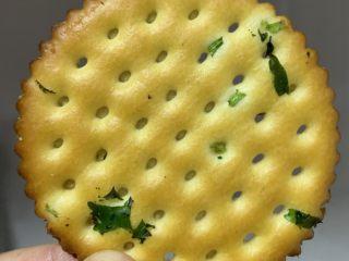 板栗饼,葱香饼干(早餐饼更适合)