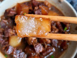 萝卜牛腩煲,萝卜比肉好吃系列,超入味的