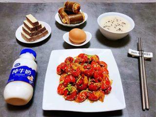 蒜蓉辣椒酱炒龙虾尾,做自己喜欢的事情吃自己爱吃美味就是幸福