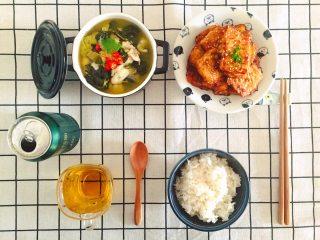 香煎豆腐,香煎豆腐做好了,端上桌准备开饭