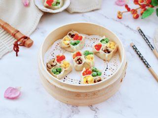 四喜饺子,成品一