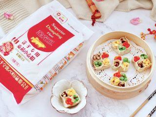 四喜饺子,颜值担当,好吃又营养丰富,嘻嘻,我家宝贝喜欢的不得了,一口气吃了四个。