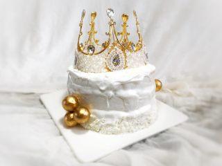 妈妈的生日蛋糕,开始装饰