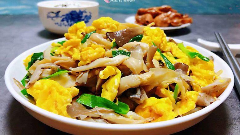 #冬日暖心菜#平菇炒鸡蛋