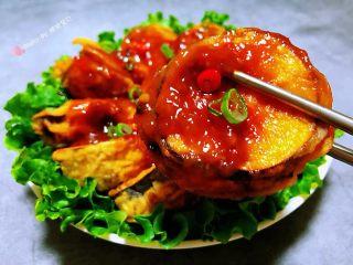 #冬日暖心菜#鱼香茄盒,茄盒这样吃给人的感觉特别享受噢