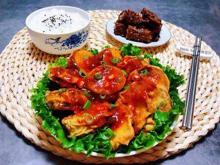 #冬日暖心菜#鱼香茄盒