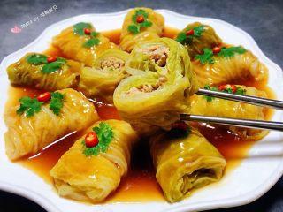 #冬日暖心菜#白菜包肉