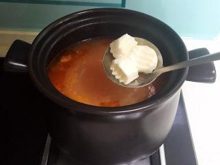 山药玉米排骨汤,山药熟了