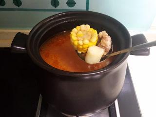 山药玉米排骨汤,山药玉米排骨汤做好了~