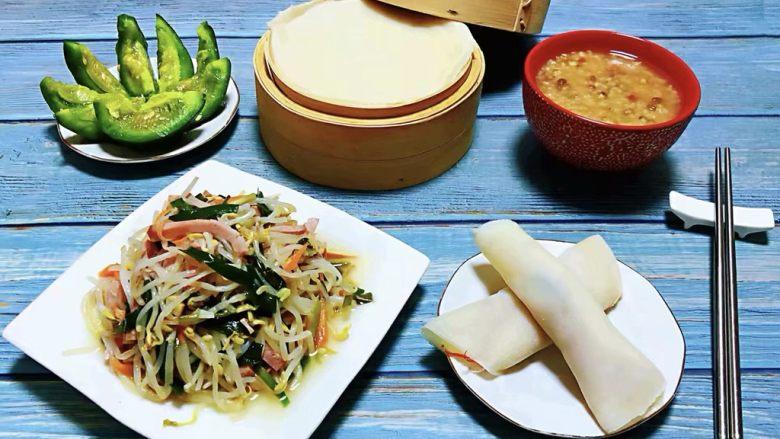 #冬日暖心菜#韭菜炒豆芽,营养丰富的早餐吃出健康吃出幸福的感觉